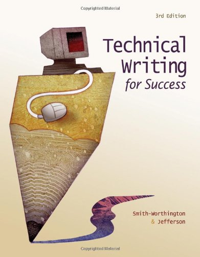 Technical Writing For Success front-874060