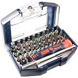 kwb Bitbox One For All 119000 (35-teilig, mit praktischem Gürtelclip, inklusive Handgriff und Bithalter, 32 Bits mit Farbkennringen)