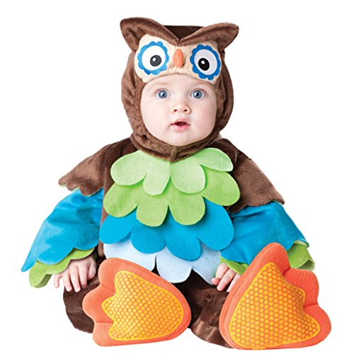 HSDJ Babies Halloween Costume What a Hoot Owl Onesie Pajamas