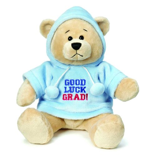 Ganz Graduation Hoodie Bear - Good Luck Grad!