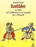 Duettueden - Violoncello -