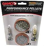 Gamo Combo Pack .22 Caliber Performance Pellets (Platinum, Armor PBA, Raptor PBA, Rocket)