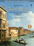 img - for Music Minus One Guitar: Vivaldi, Two Concerti for Guitar (Lute) & Orchestra: C major, RV425 (F. V/1); D major, RV93 (F. XII/15) (Book & CD) book / textbook / text book