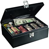 MMF Industries Steel Cash Box with Security Cable (221613004)