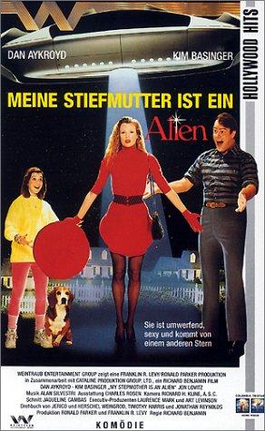 Meine Stiefmutter ist ein Alien [VHS]