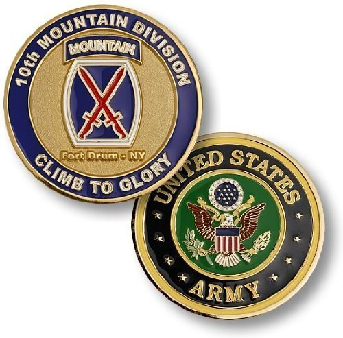 Fort Drum - 10th Mountain Division Challenge Coin