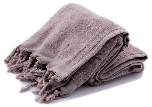 "*Free Ship* Xl Premium 2 Sided Turkish Cotton Bath Hammam Beach Pool Spa Sauna Yoga Yacht Towel Peshtemal Wrap Sarong Fouta Hamam Pestemal, Picnic Beach Blanket 39X70"" 1 Lb. (Coffee) back-337453"