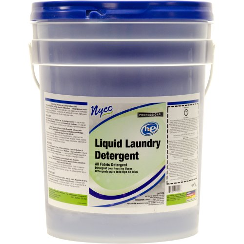 Nyco Products Nl929-P5 Liquid Laundry Detergent, 5-Gallon Pail front-284209