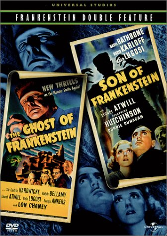 Ghost of Frankenstein & Son of Frankenstein [DVD] [Region 1] [US Import] [NTSC]