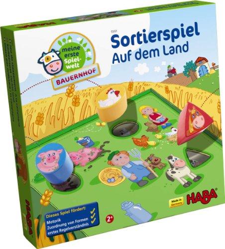 Haba On the Farm Sorting Game
