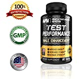 TEST PERFORMANCE- Male Enhancement -The Best Testosterone booster formula for men - Increases Testosterone Stamina, Muscle Growth, energy and more! - Also Maximize Your Libido With TEST Performance!