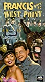 Francis Goes to West Point [VHS]