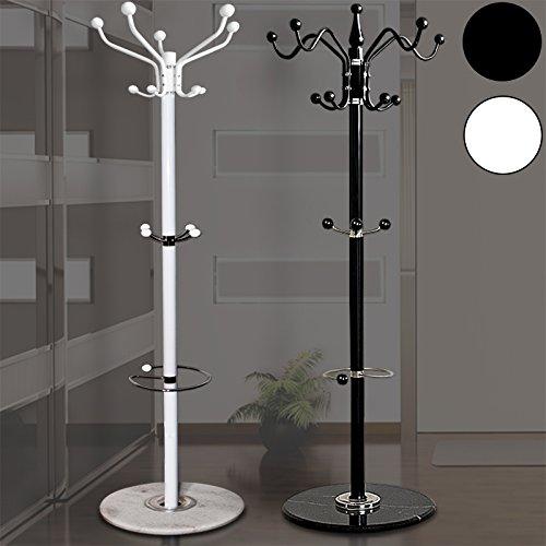 garderobenst nder schwarz geschwungen marmor. Black Bedroom Furniture Sets. Home Design Ideas