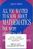 Louis Lyons All You Wanted to Know About Mathematics but Were Afraid to Ask 2 Volume Paperback Set: Mathematics for Science Students: Mathematics for Science Students v. 1 & 2
