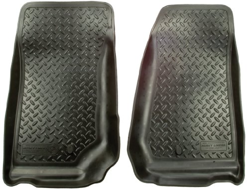Husky Liners 30521 Black Custom Molded Front Floor Liner