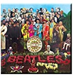WOODBRASS CLUB Beatles Motivo: Sgt Peppers - 7,7 cm x 7,7 cm Magnets