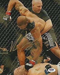 Quinton Rampage Jackson Signed UFC 8x10 Photo COA Picture Autograph 92 - PSA/DNA Certified - Autographed UFC Photos
