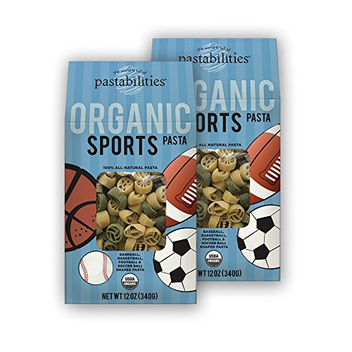 Pastabilities Organic Kids Sports Pasta, 12 oz. (Pack of 2) (Organic Pasta For Kids compare prices)