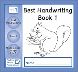 how to write book titles in handwriting