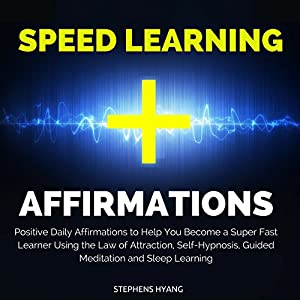 Speed Learning Affirmations Hörbuch
