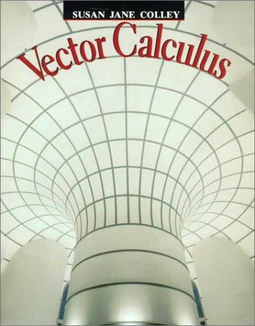 Vector calculus homework help