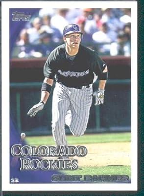 2010 Topps Baseball Card # 373 Clint Barmes - Colorado Rockies - MLB Trading Card