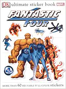 Fantastic Four: Ultimate Sticker Book [With 60 Reusable ...