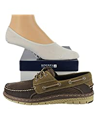 Sperry Men's Billfish Ultralite Shoe with FREE Sperry No Show Socks Bundle