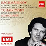 Rachmaninov: Complete Piano Concertos, Rhapsody On A Theme Of Paganini / Tchaikovsky: Piano Concerto No.1