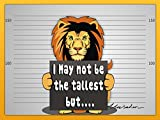 Children Book : I May not be the tallest but (Bedtime Story, Great Book about LIONS) (Ages 4 - 12)