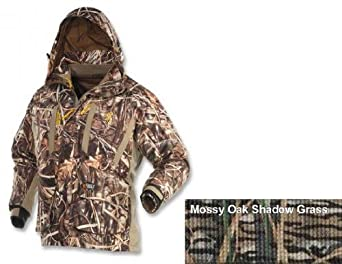 Buy Browning Dirty Bird 4-In-1 Parka, Mossy Oak Shadow Grass Blades, XL 3033002504 by Browning