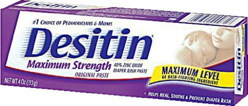 Desitin Diaper Rash Maximum Strength Original Paste 4 Oz (113 G) Personal Healthcare / Health Care