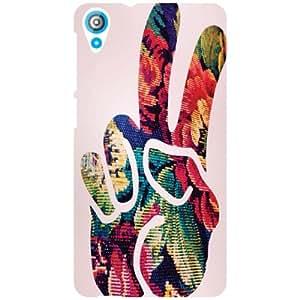 HTC Desire 820 Back Cover - Numeric Two Designer Cases