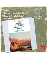 Carl Maria von Weber : Messes n° 1 et n° 2