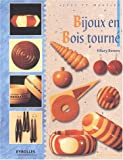 Bijoux en bois tourn