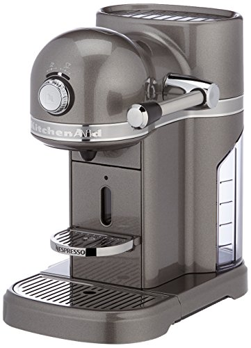 Kitchenaid 5KES0503EMS kitchenaid nespressomaschine médaillon argenté