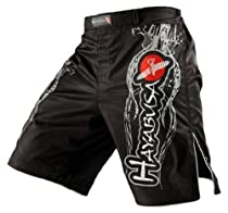 Hayabusa Mizuchi Fight Shorts, 36, Black