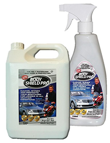 body-shield-pro-575l-waterless-car-wash-multi-car-pack-1-x-5ltr-drum-750ml-hand-spray-endorsed-by-tv