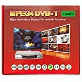 HDMI 1080p Freeview Digital TV Receiver Tuner Set Top Digi Box Terrestrial + USB and SD Slot TV Schedule Program Recorder + MP4 MKV H.264 Multi Media Video & Photo Player For UK Switchover Converter High Definition Box with HDMI and SCART OUT DVB-T (ALL IN 1 DEVICE) 1 YEAR WHATEVER HAPPENS REPLACEMENT WARRANTY (comes included with free SCART Cable)