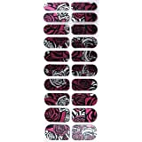 Adoro Glam Up Instant Nail Wrap #001 2012/24