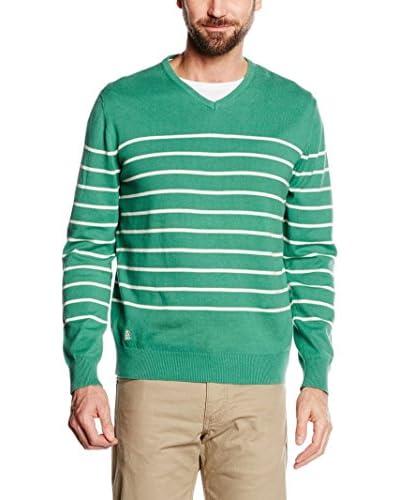 Cortefiel Jersey  Verde 2XL