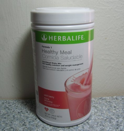 HERBALIFE FORMULA 1 SHAKE WILD BERRY CANISTER 26.04 OZ