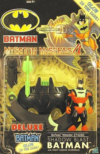 Batman Action Figure: Mission Masters 4 - Shadow Blast Batman - 1