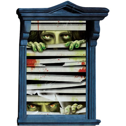 Window Magic Horror Eyes Decorations - 1
