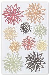 Martha Stewart Crafts Stickers, Glittered Fall Chrysanthemum