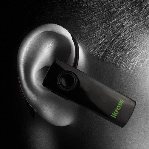 Ikross Black Mini Bluetooth Handsfree Headset