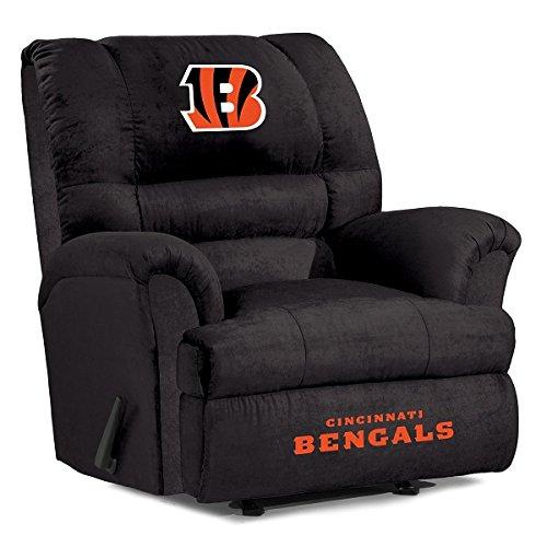 NFL Cincinnati Bengals Big Daddy Microfiber Recliner