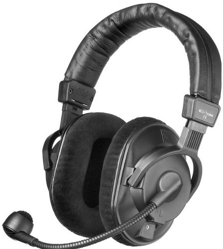 Beyerdynamic Dt290 Double Sided Circumaural Open-Back 80 Ohm Headphone Headset With 200 Ohm Mic