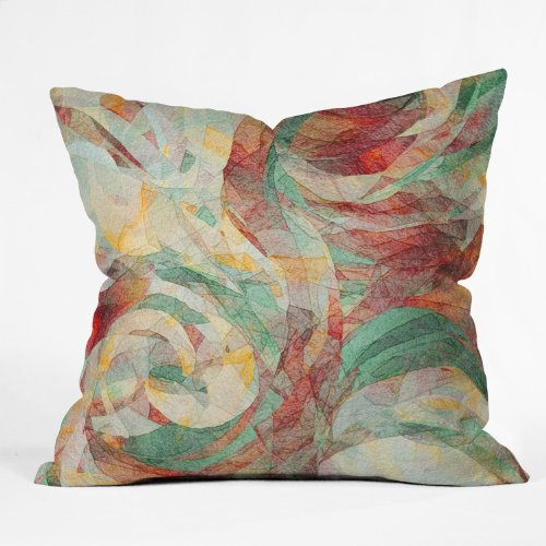DENY Designs Jacqueline Maldonado Rapt Throw Pillow, 18 x 18