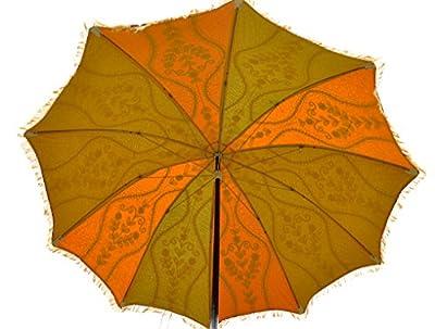 Vintage Garden Dekorative Außensonnenschirm Sonnenschirm von Lalhaveli auf Gartenmöbel von Du und Dein Garten